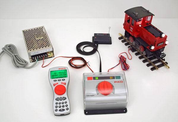 PIKO SL-PIKO-DC-5-PS-Kit DC Wireless Starter Set 5 Amps