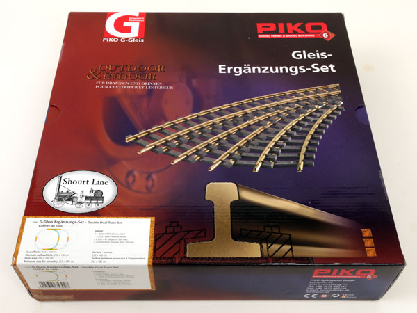 PIKO 35302 Double Oval Track Set Box front