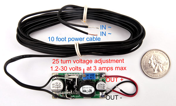 SL 8453303Precision Train Throttle & LED controller - AC,DC or DCC input + full wave