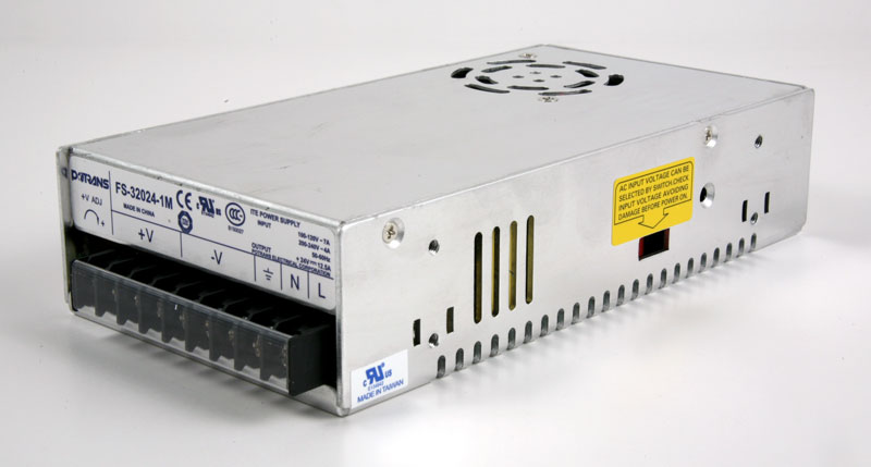 SL-PS300-1-27Fp Power Supply 24V 12.5A 300 W frontl-lf-top view